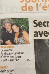 CORSE-MATIN avec Xavier Lemaire et Isabelle Andréani